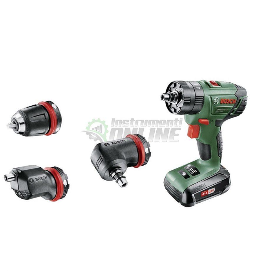 акумулаторен, винтоверт, Ударен, акумулаторен винтоверт, 18 V, AdvancedImpact, 18 QuickSnap, Bosch