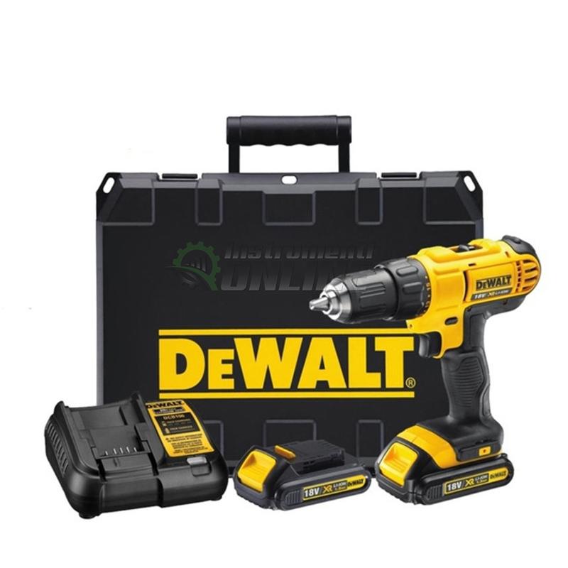 Ударен акумулаторен винтоверт DeWALT, 18.0 V, 1.5 Ah, ударен винтоверт DeWALT, акумулаторен винтоверт DeWALT, винтоверт DeWALT, DeWALT