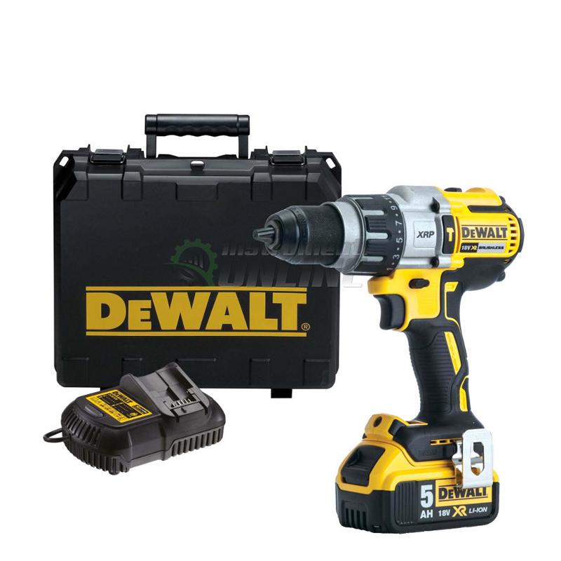 Ударен акумулаторен винтоверт DeWALT, 18.0 V, 5.0 Ah, ударен винтоверт DeWALT, акумулаторен винтоверт DeWALT, винтоверт DeWALT, DeWALT