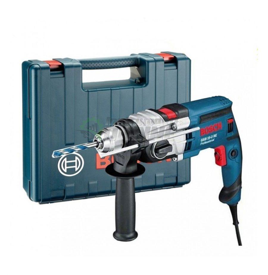 Ударна бормашина Bosch, Professional, GSB 19-2 RE, 850 W, ударна бормашина, бормашина, бормашина Bosch