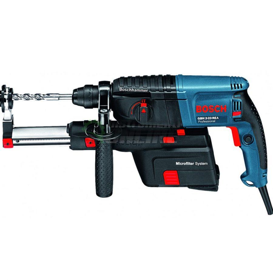 Ударна бормашина Bosch, Professional, GSB 19-2 REA, 900 W, с куфар, ударна бормашина, бормашина, бормашина Bosch