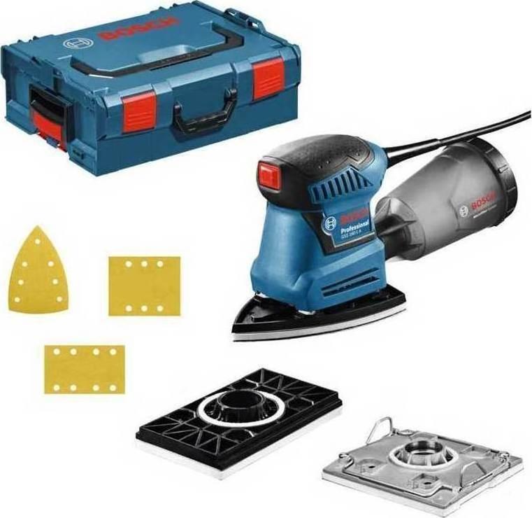 Вибрационна, шлифовъчна, машина, L-BOXX, 180 W, 230 V, GSS 160, Multi, Bosch