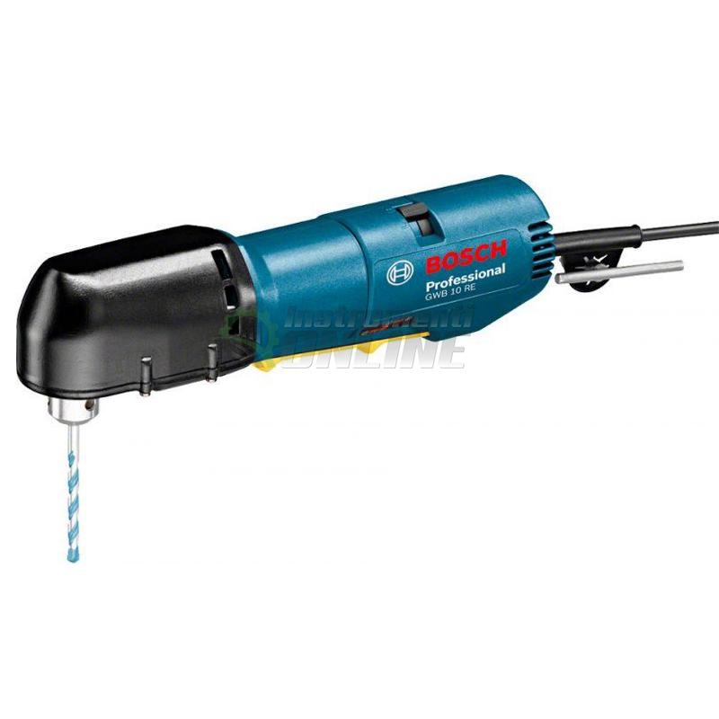 Ъглова бормашина Bosch, GWB 10 RE, 400 W, ъглова бормашина, бормашина, бормашина Bosch