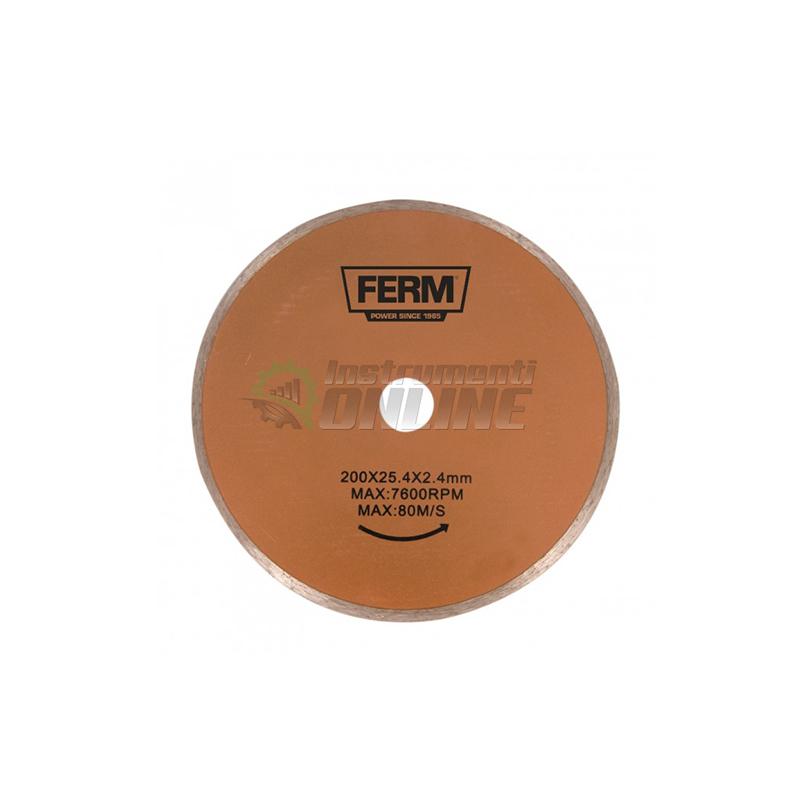 Диск, диска за мрамор, машинка за мрамор, FTZ-900, 200 x 25.4, TCA1006, FERM