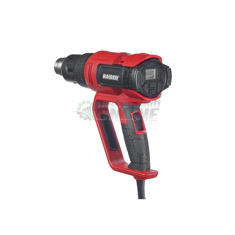 Индустриален пистолет за горещ въздух / 2000 W / Industrial RDI-HG24 RAIDER