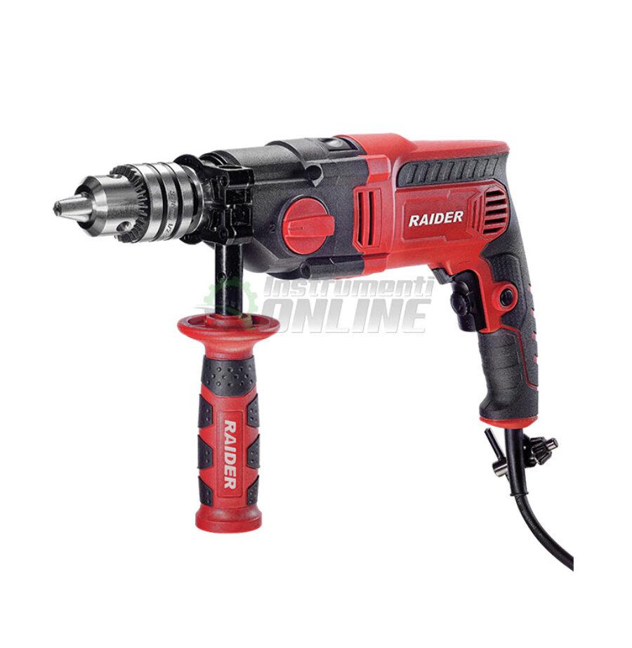 Индустриална, ударна, Бормашина, 1100 W, Industrial, RDI-ID39, RAIDER