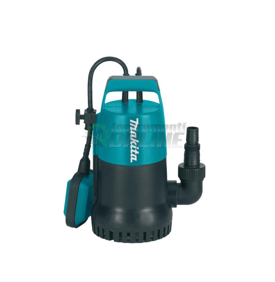 Потопяема, помпа, чиста вода, 800 W, 9 метра, PF0800, Makita
