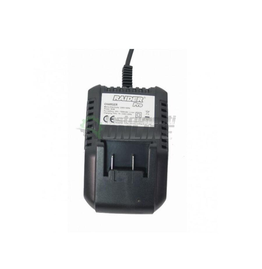 Зарядно, акумулаторно зарядно, зарядно за бормашина, Li-ion, 18 V, GT-CDL20, Raider