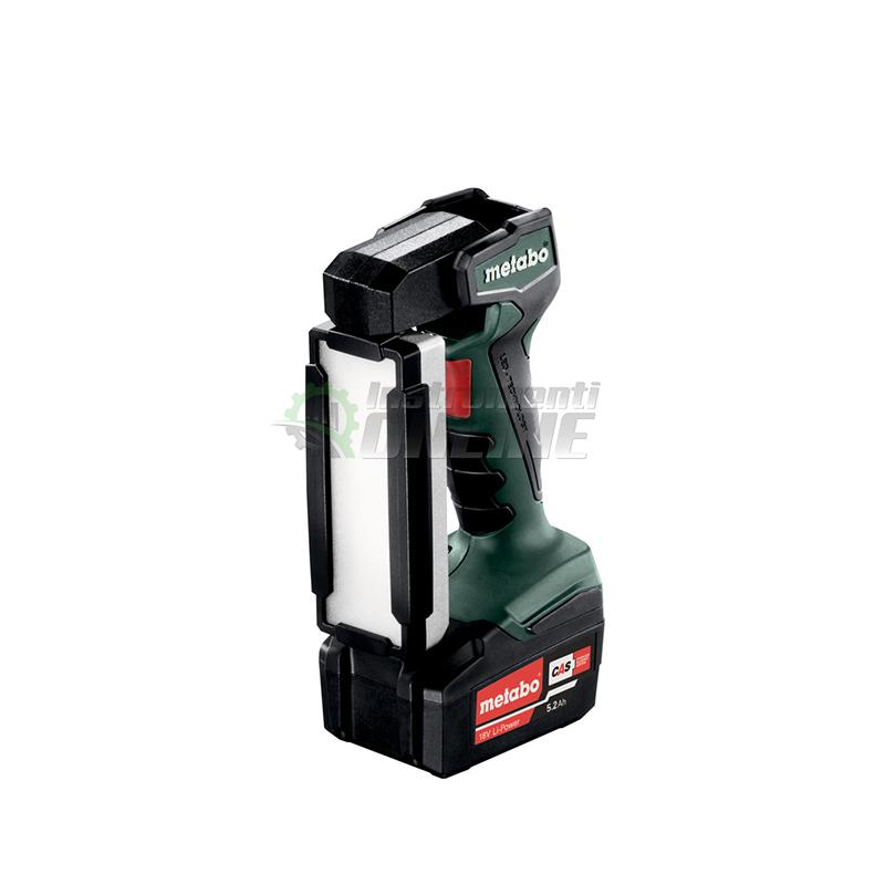 фенер, Акумулаторен фенер, SLA, 14.4-18, LED, Metabo