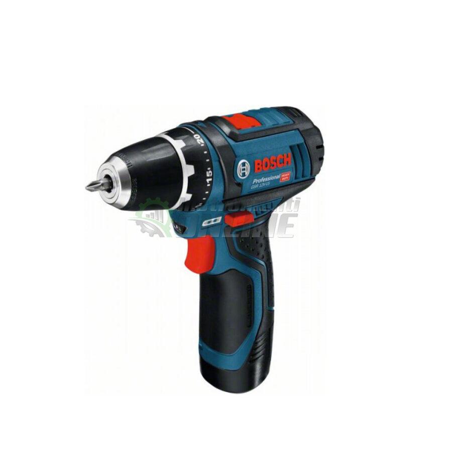 Акумулаторен винтоверт, 12 V, 2 Ah, GSR 12V-15, Bosch, акумулаторен винтоверт Bosch, винтоверт Bosch