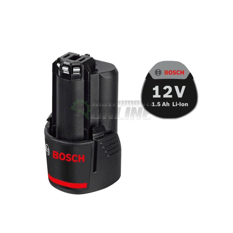 Акумулаторна батерия, 12 V, 1.5 Ah, Bosch GBA, акумулаторна батерия Bosch, батерия Bosch