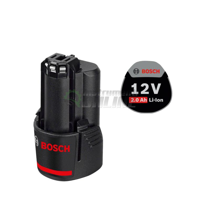 Акумулаторна батерия, 12 V, 2.0 Ah, Bosch GBA, акумулаторна батерия Bosch, батерия Bosch