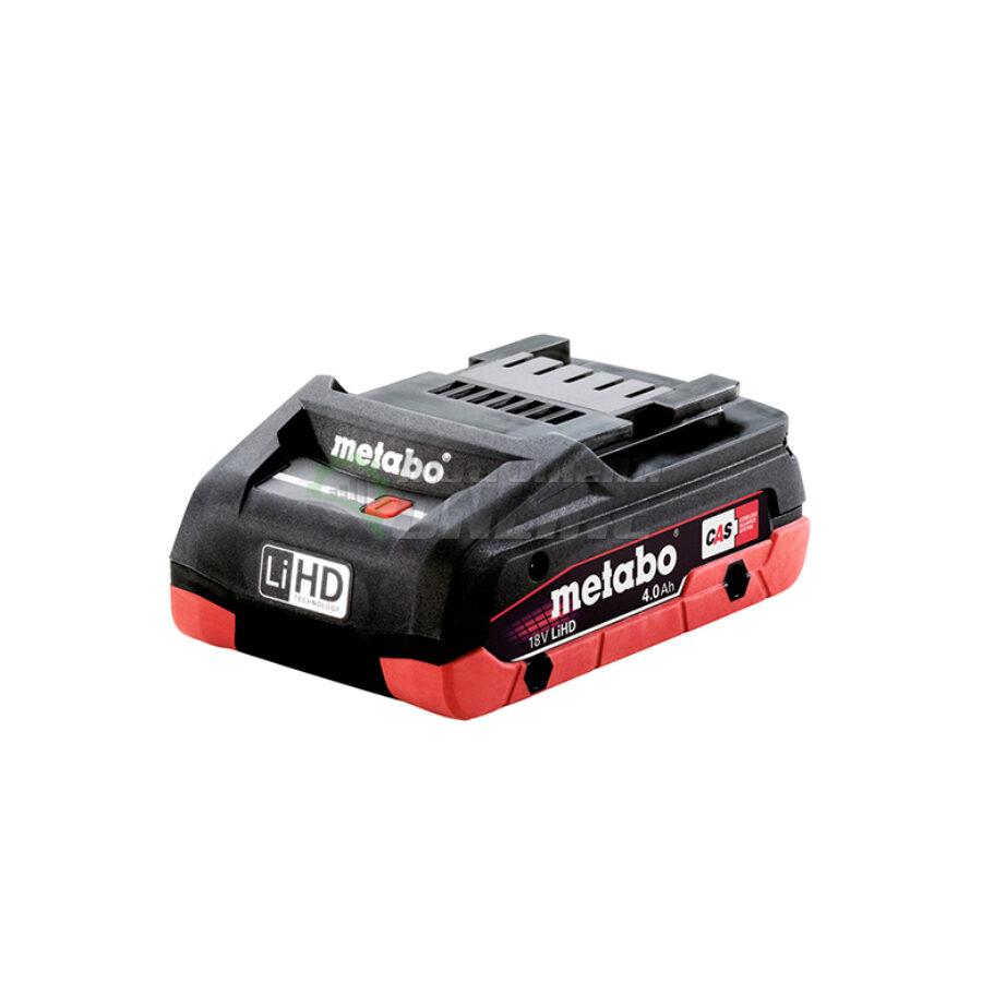 Акумулаторна батерия, батерия, 18 V, 4.0 Ah, LiHD, Metabo