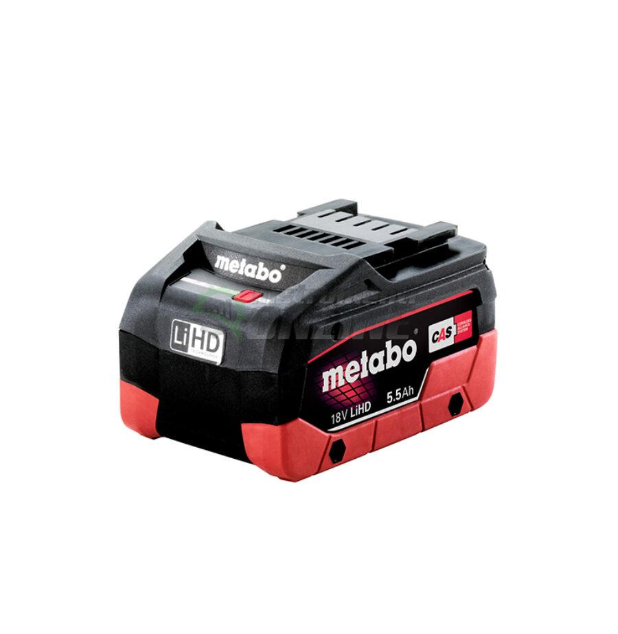 Акумулаторна батерия, батерия, 18 V, 5.5 Ah, LiHD, Metabo