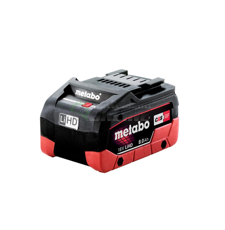 Акумулаторна батерия, батерия, 18 V, 8.0 Ah, LiHD, Metabo