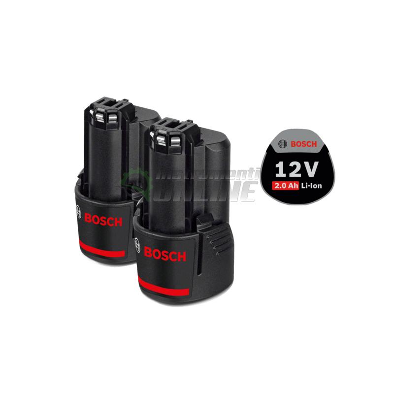 Акумулаторна батерия, 12 V, 2.0 Ah, Bosch GBA, акумулаторни батерии Bosch, батерия Bosch
