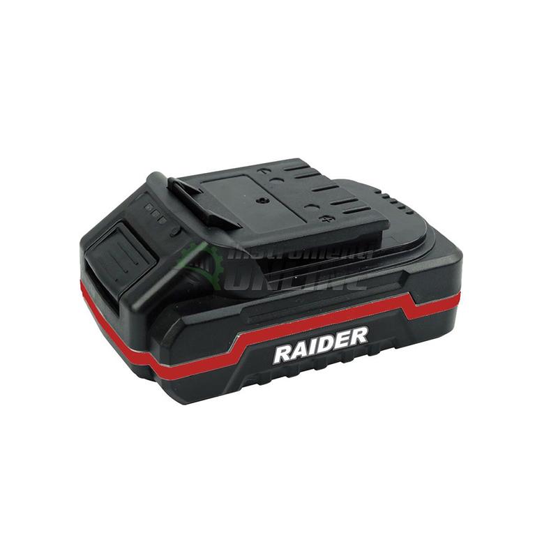 акумулаторна батерия, батерия за косачка, Батерия, акумулаторна косачка, Li-ion, 18 V, 36 V, RD-LM23, Raider