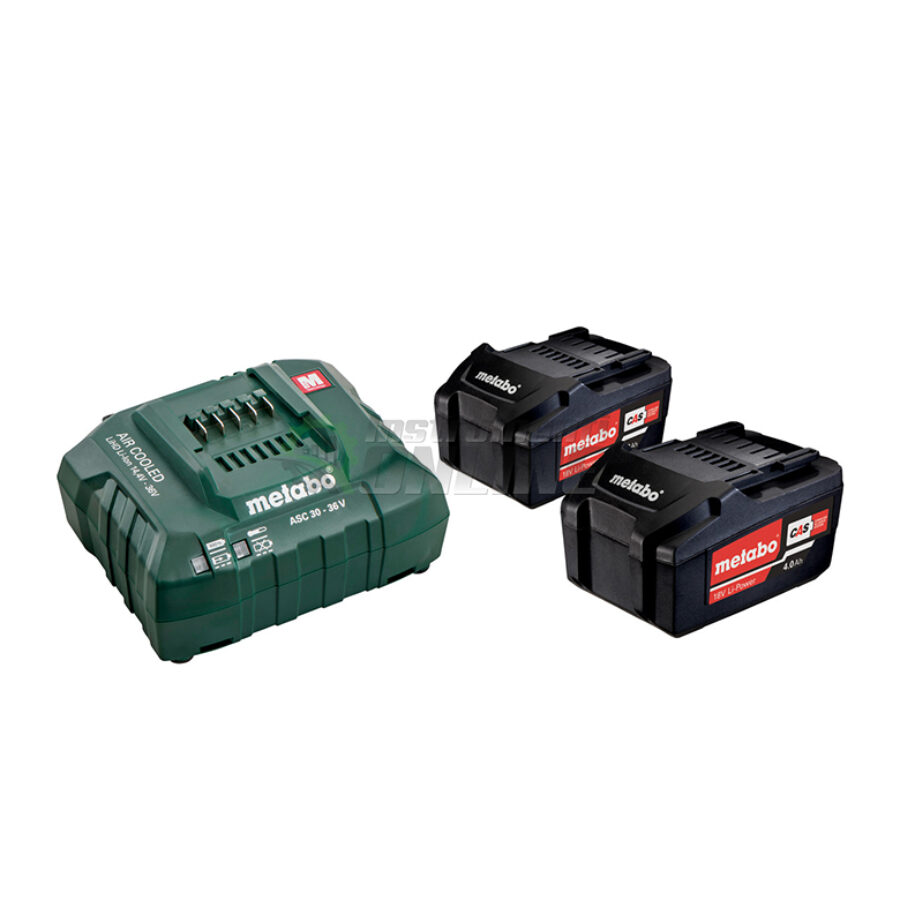 Базов, акумулаторен комплект, 18 V, ASC, 30-36, 4.0 Ah, lipower, Metabo
