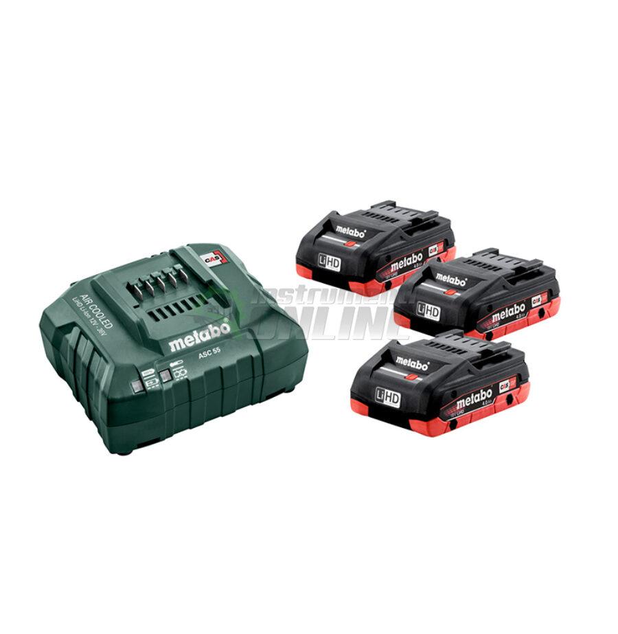Базов, акумулаторен комплект, 18 V, ASC, 30-36, 4.0 Ah, LiHD, Metabo