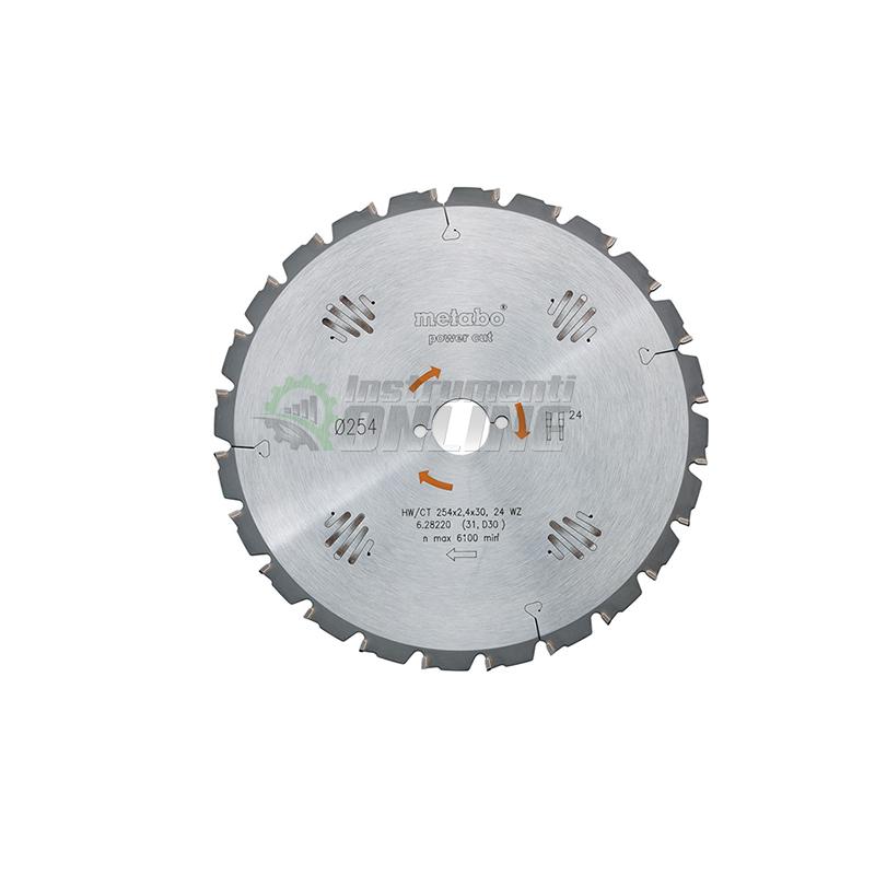 Диск за циркуляр 450 х 3.5 х 30 мм 32 FZ 10° Metabo
