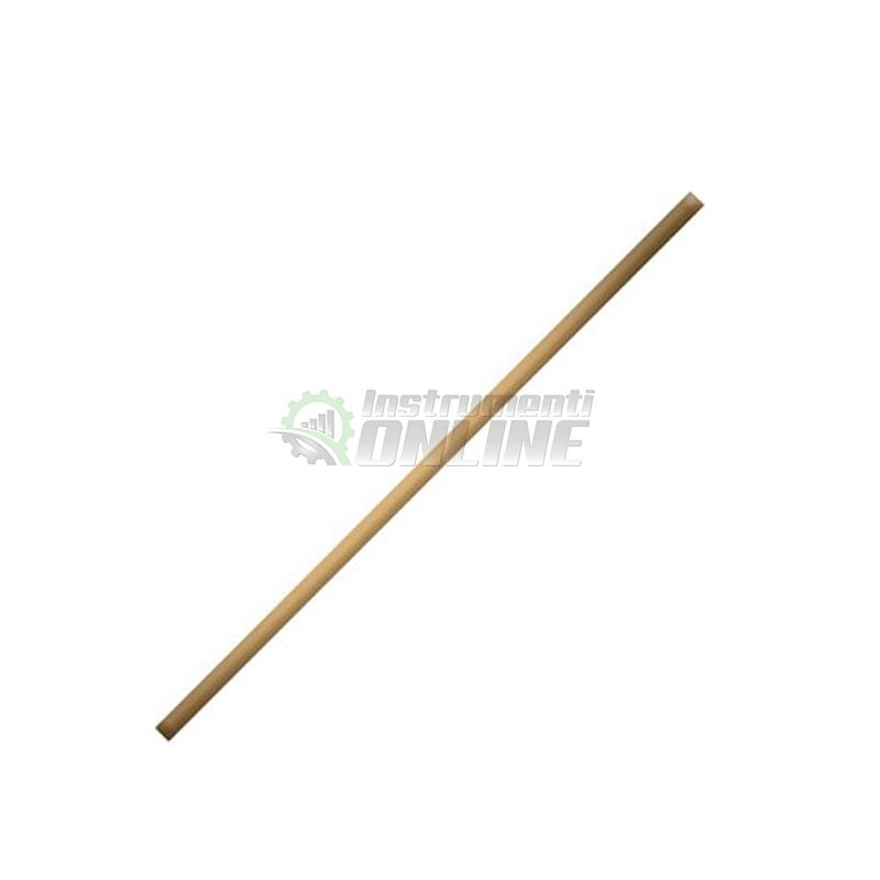 дръжка за мотика, дръжка за гребло, дръжка за лопата, Дървена дръжка, 1200 мм, фи 28 мм, Top Garden
