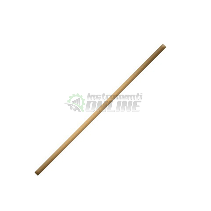 дръжка за мотика, дръжка за гребло, дръжка за лопата, Дървена дръжка, 1200 мм, фи 38 мм, Top Garden