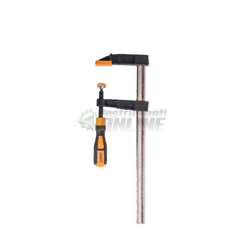 Дърводелска стяга, стяга, двукомпонентна дръжка, 120 x 500 мм, Gadget