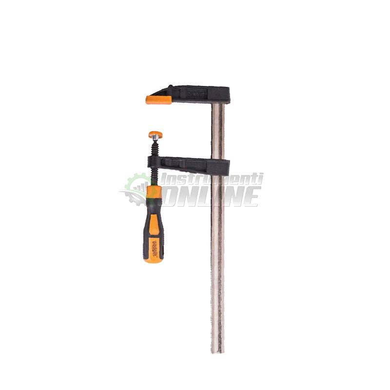 Дърводелска стяга, стяга, двукомпонентна дръжка, 120 x 800 мм, Gadget
