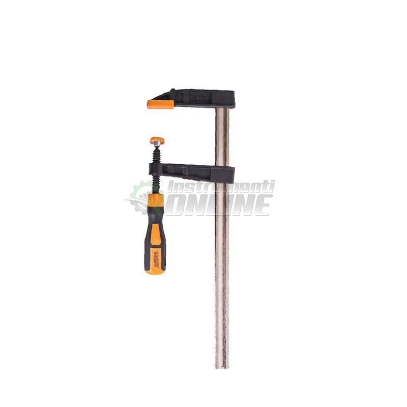 Дърводелска стяга, стяга, двукомпонентна дръжка, 50 x 150 мм, Gadget