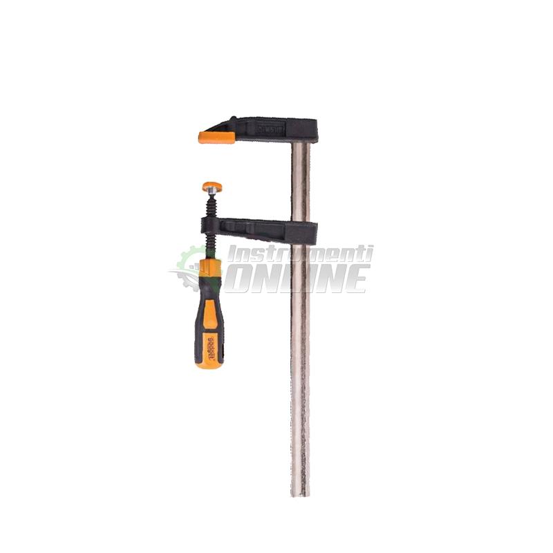 Дърводелска стяга, стяга, двукомпонентна дръжка, 50 x 200 мм, Gadget