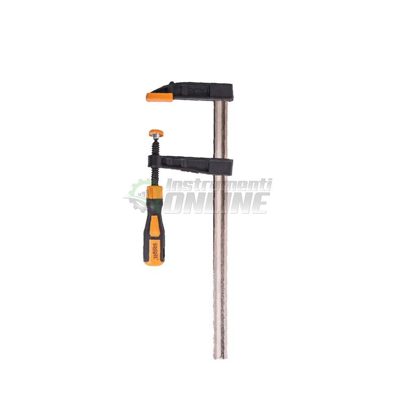 Дърводелска стяга, стяга, двукомпонентна дръжка, 50 x 250 мм, Gadget