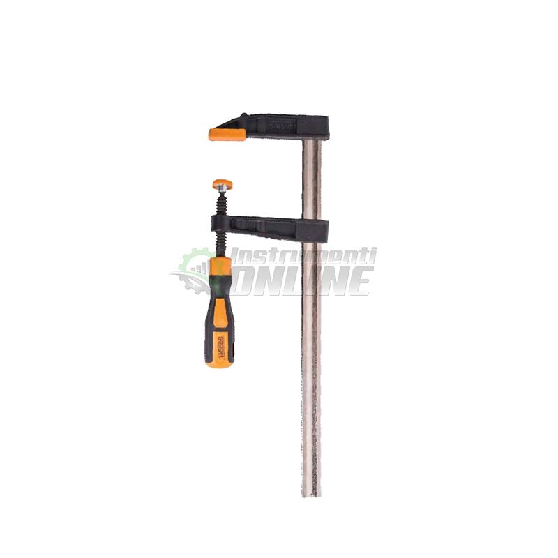 Дърводелска стяга, стяга, двукомпонентна дръжка, 50 x 300 мм, Gadget