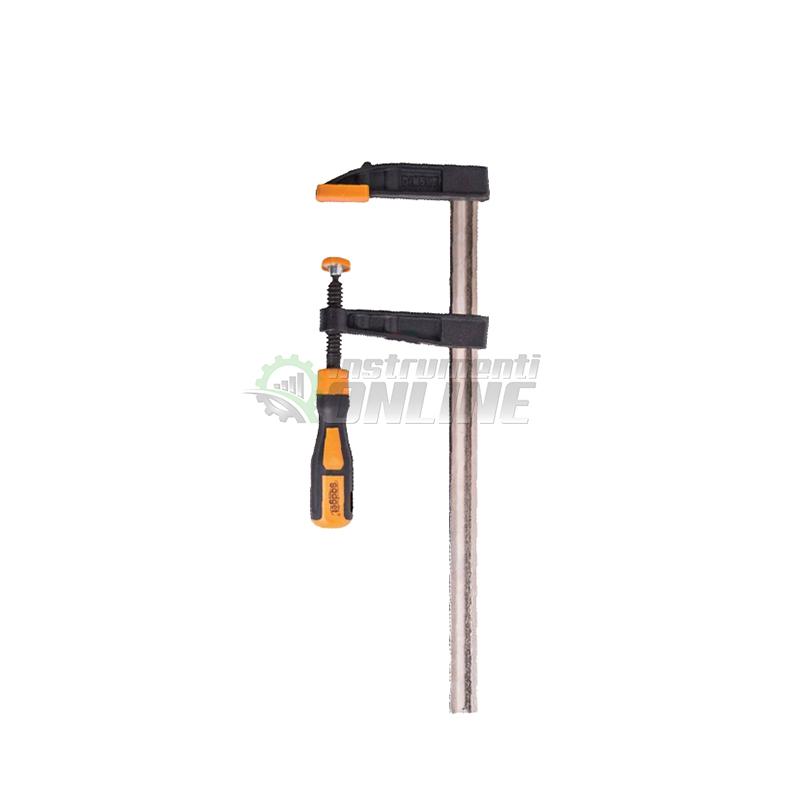 Дърводелска стяга, стяга, двукомпонентна дръжка, 80 x 300 мм, Gadget