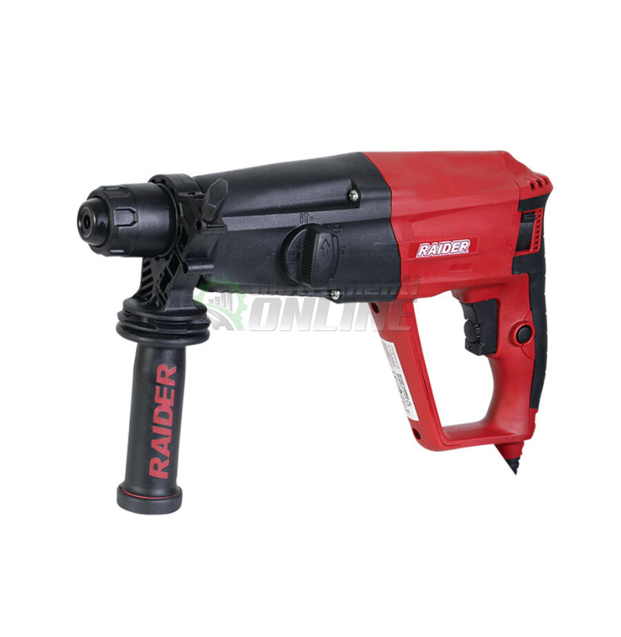 перфоратор, перфоратор einhell, Електрически перфоратор, 1050 W, SDS Plus, 3.4 J, RD-HD51, Raider