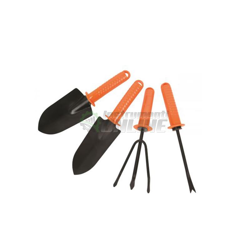 лопатка, градинска лопатка, Градински комплект, 4 части, Top Garden