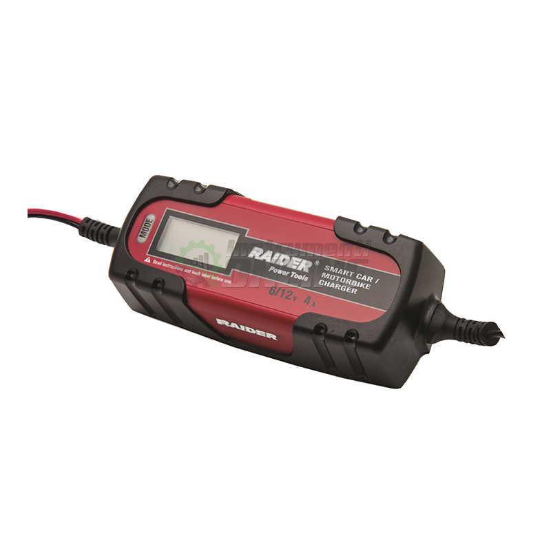 Инверторно зарядно за акумулатор / 6 / 12 V, 120 Ah / RD-BC13 Raider