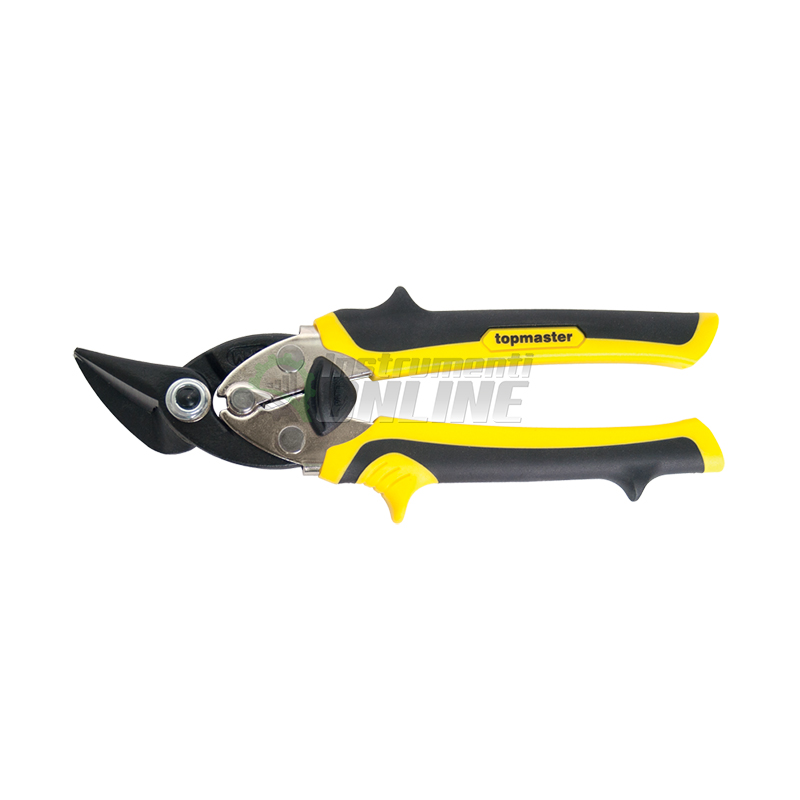 Компактна усилена ножица за ламарина за дясна ръка Topmaster Professional STARK