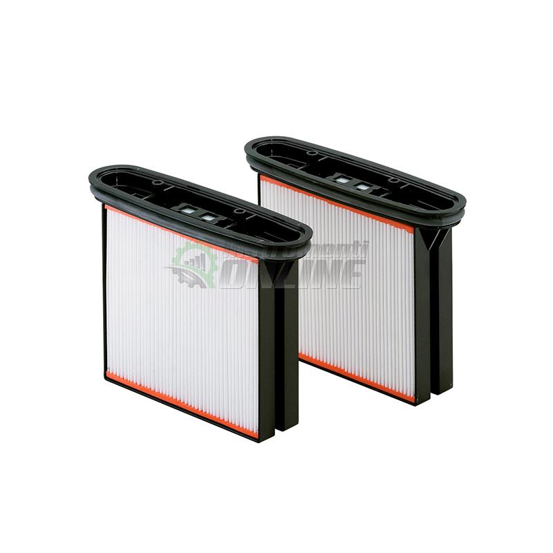 Комплект, 2 броя, филтърни, касети, полиестерни, клас М, ASR25, ASR35, ASR50, Metabo