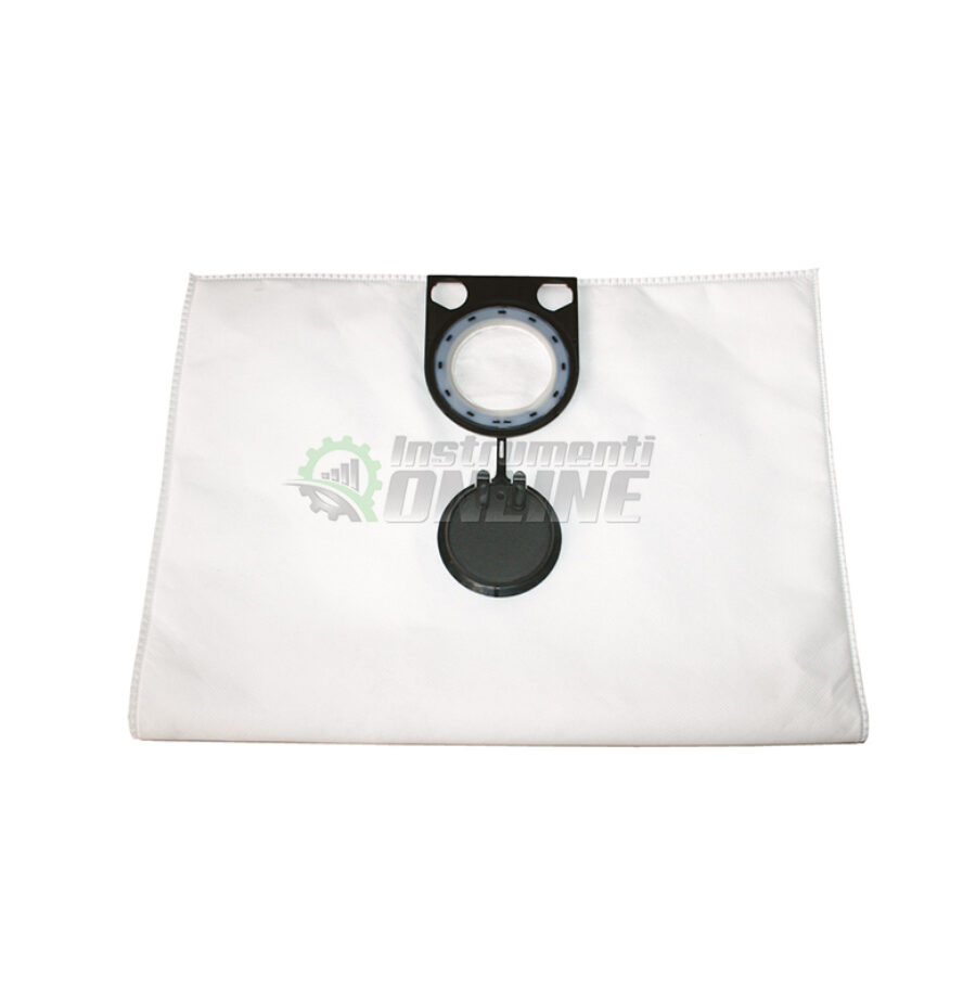 Комплект, 5 броя, текстилни, торбички, прахосмукачка, ASR 25, ASR 35, клас М, Metabo