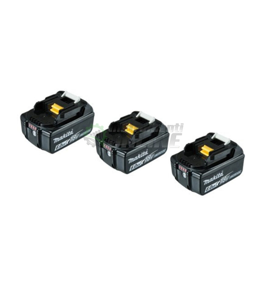 Комплект, MAKPAC, батерии, BL1860B, Makita