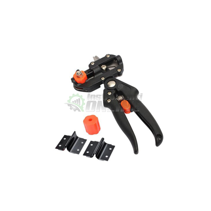 Комплект за ашладисване, ножица за ашладисване, три приставки, несесер, Top Garden, Premium