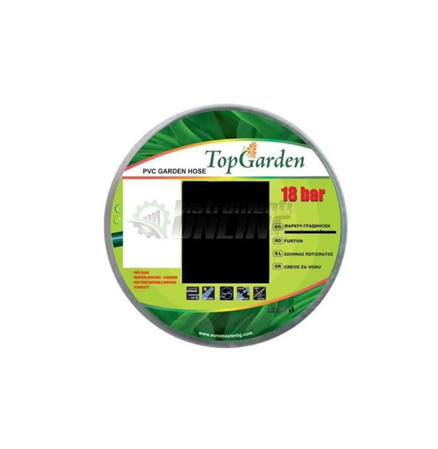 """Комплект смукателен, смукателен маркуч, смукател, 7 метра, 1"""", Top Garden"""