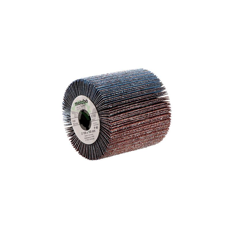 Ламелна, шлифовъчна, ролка, шкурка, 105 х 100 мм, P80, Metabo