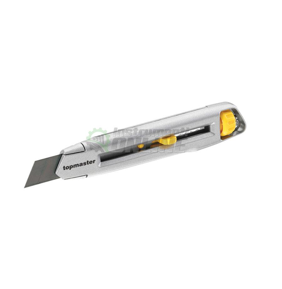 Метален нож, макетен, нож 18 мм, Topmaster, Professional