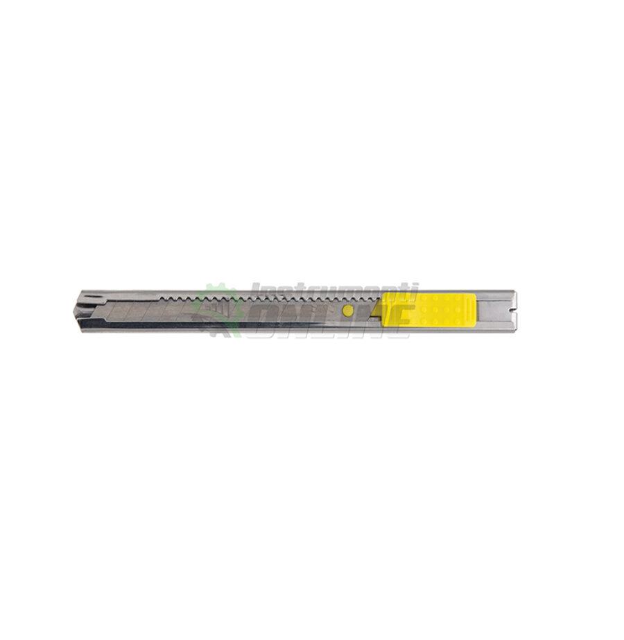 Метален нож, метален макетен, макетен нож, 9 мм, Topmaster, Professional