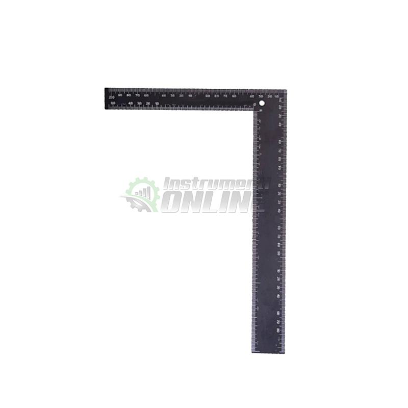 Метален ъгъл, монолитен ъгъл, прав ъгъл, 20 x 30 cm, Gadget