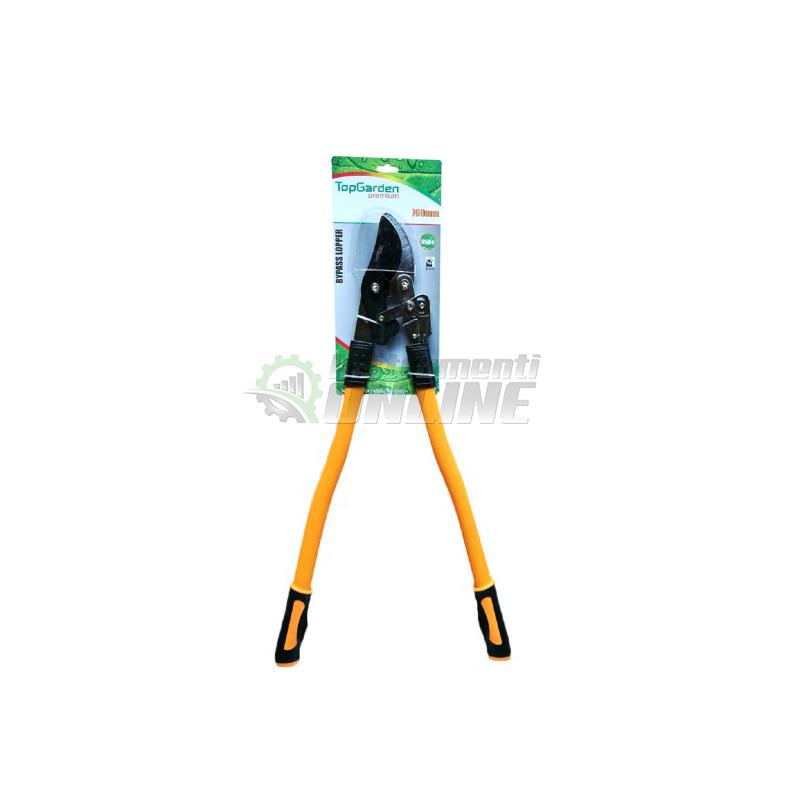 ножица, градинска ножица, Ножица за клони, усилващ механизъм, 760 мм, Top Garden, Premium