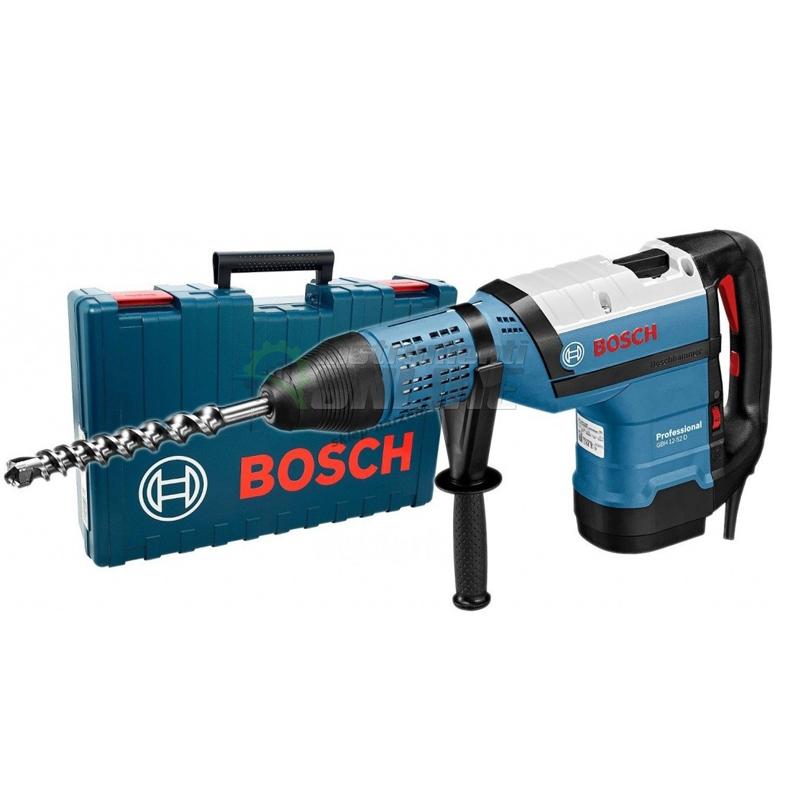 Перфоратор, 1700 W, SDS-max, 19 J, GBH 12-52 DV, Bosch Professional, Bosch, перфоратор Bosch, перфоратор