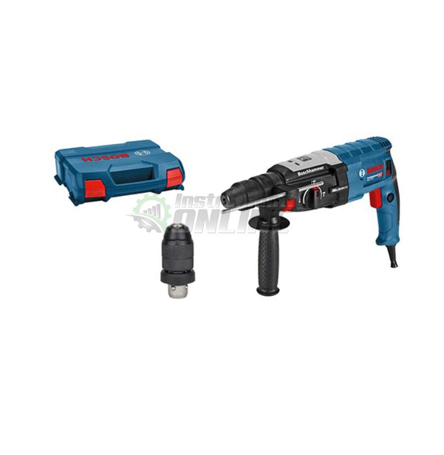 Перфоратор, 880 W, SDS Plus, 3.2 J, L-Boxx, GBH 2-28 F, Bosch, перфоратор Bosch, перфоратор, Bosch Professional