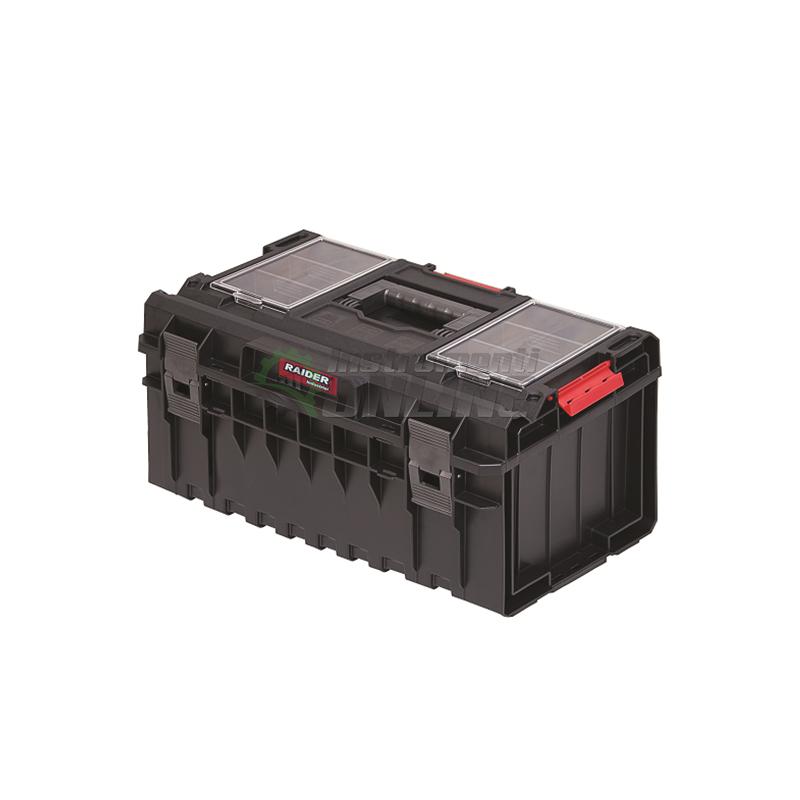 Пластмасов куфар за инструменти за мобилна система MULTIBOX RDI-MB38 Raider